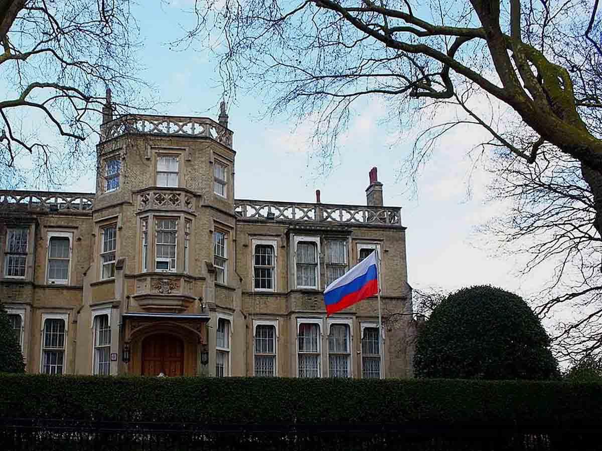 посольство России в Англии