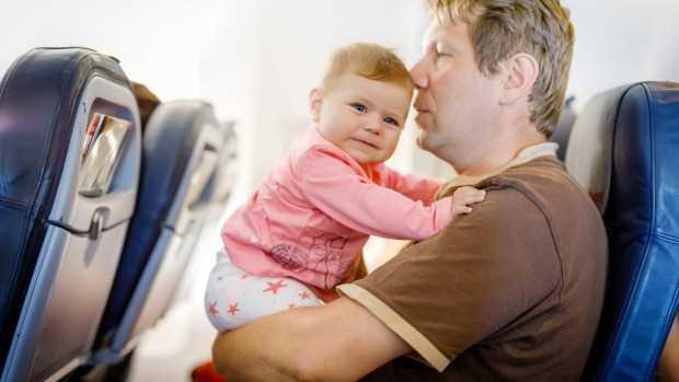 как дети переносят перелет на самолете в 3 года