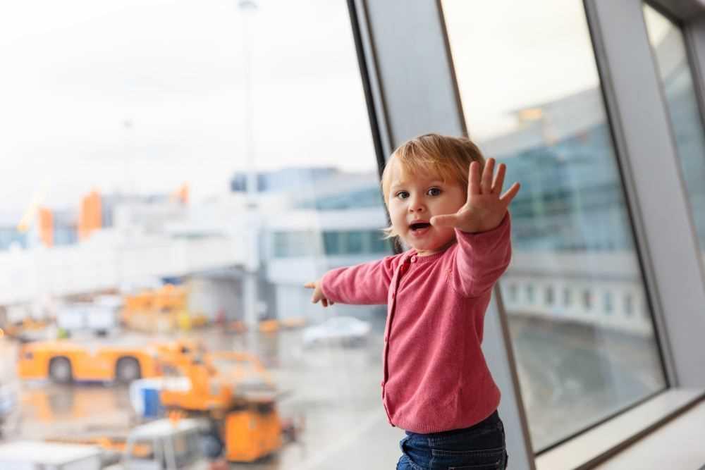 дети до трех лет в самолете