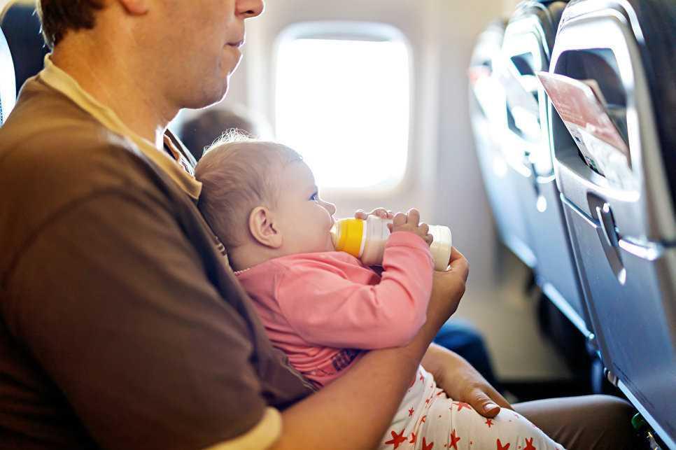 с какого возраста могут летать дети на самолете без взрослых