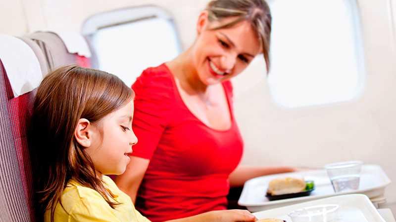 дети до 2 лет в самолете s7