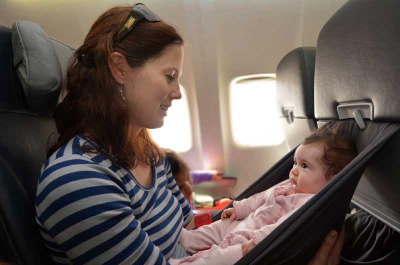 дети в самолете цена