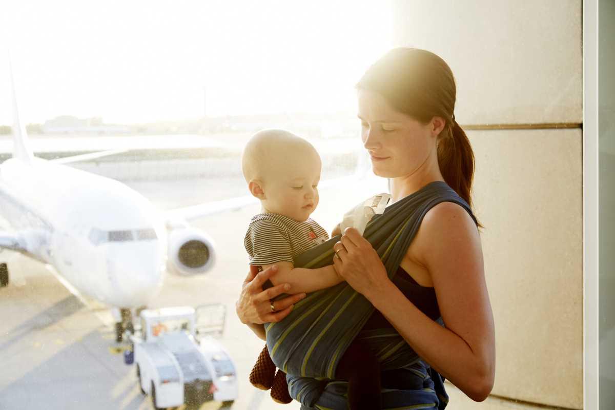 как летают в самолете дети до года
