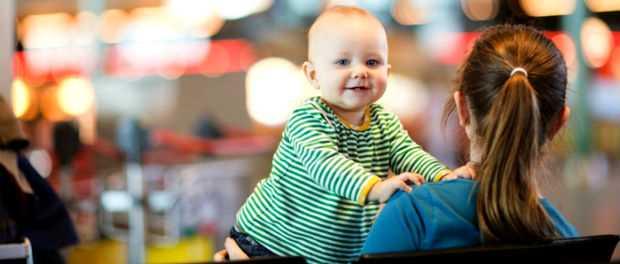 дети в самолете до 3 лет