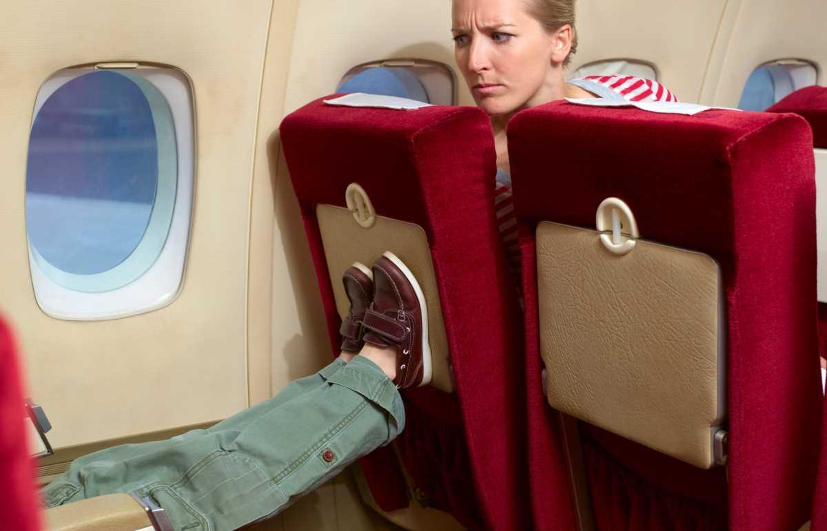 дети в самолете обслуживание