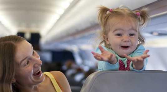 дети до 2 лет в самолете в крым