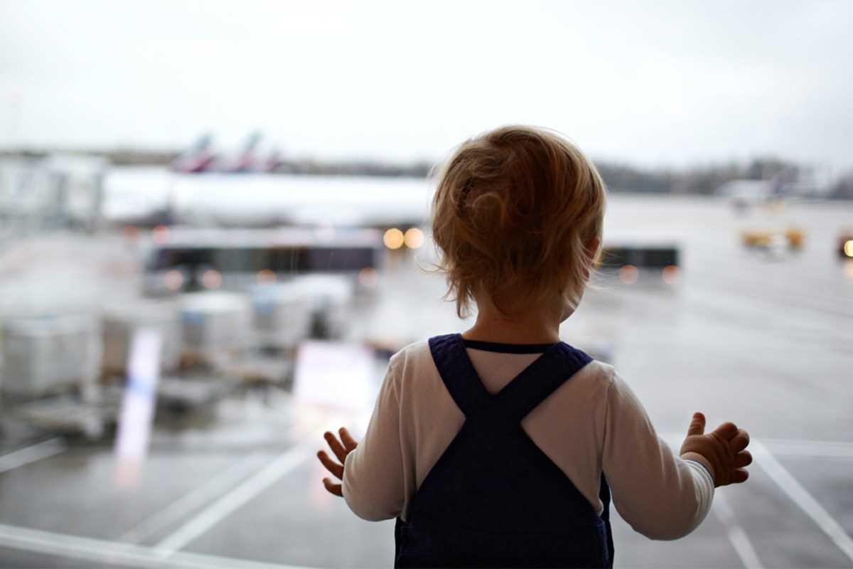 дети в самолете стоимость