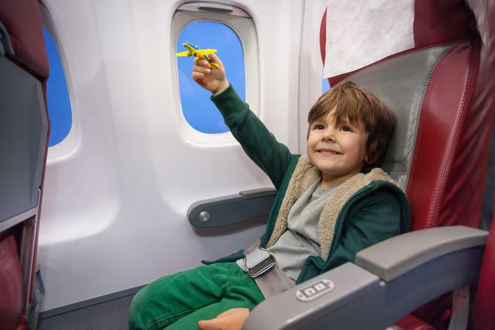 дети в самолете екатеринбург