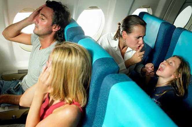 дети в самолете правила перевозки