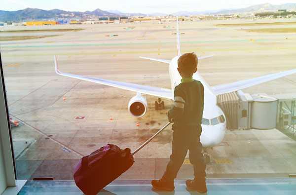 дети как оплачивают в самолете
