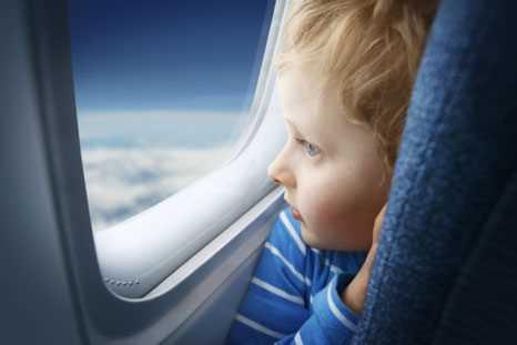 как годовалые дети переносят перелет в самолете