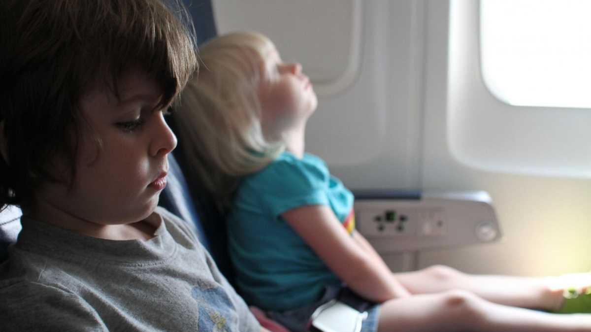дети в самолете бесплатно аэрофлот