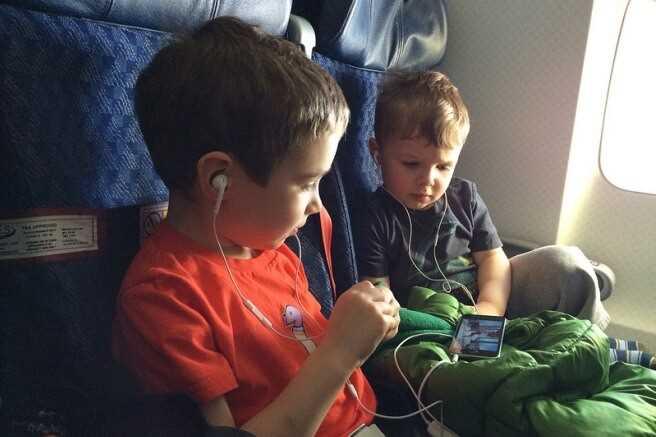дети до 5 лет в самолете аэрофлот