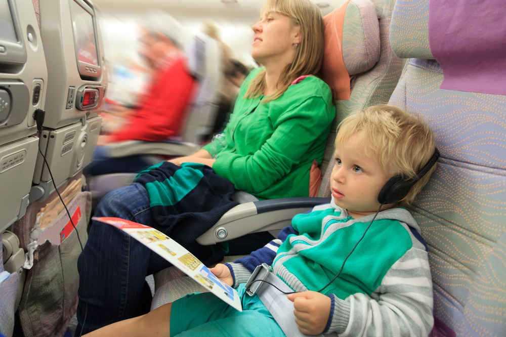 дети до 5 лет проезд в самолете