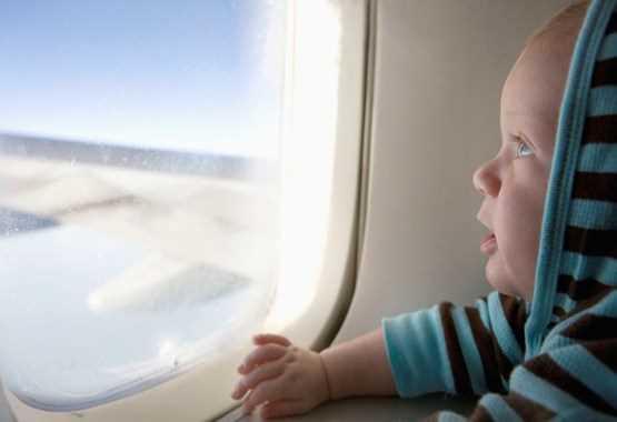 дети до 2 х лет в самолете