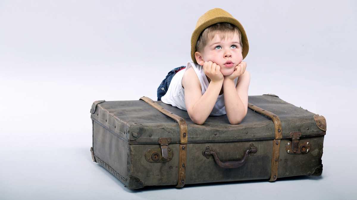 маленькие дети в самолете ужас