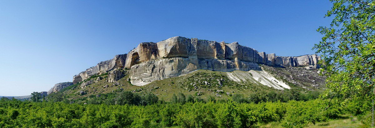 Маршрут похода по каньонам Крыма