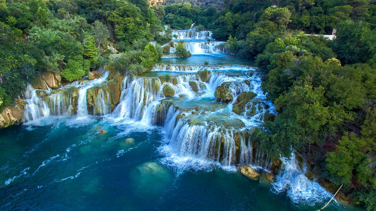 Национальный парк Плитвицкие озера - Хорватия