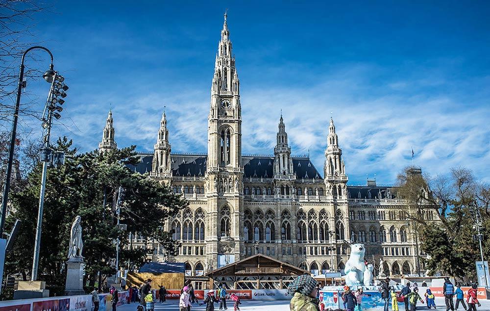 Где отметить Новый год в Вене Встреча новогодних праздников