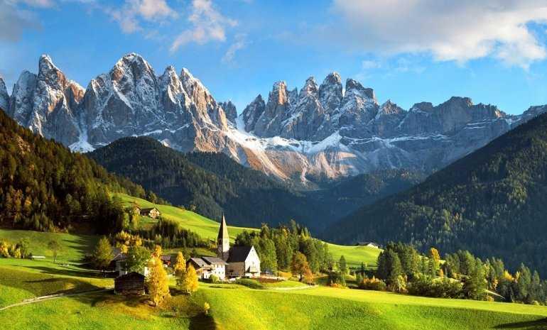 Давайте поговорим об Австрии