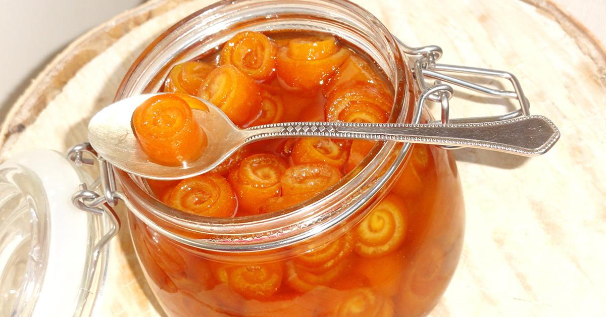 Мармелад из апельсиновых корок