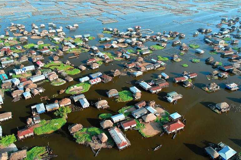 Ганвие — город на воде