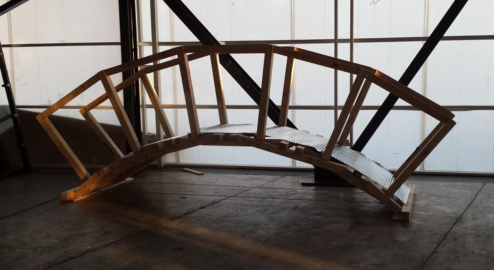 Мост Леонардо Да Винчи своими руками