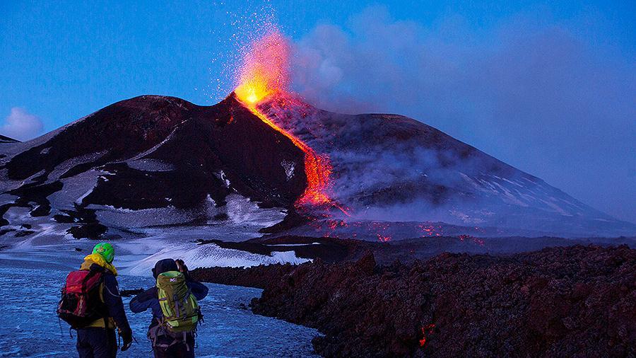 Вулкан Этна внесен в список всемирного наследия ЮНЕСКО