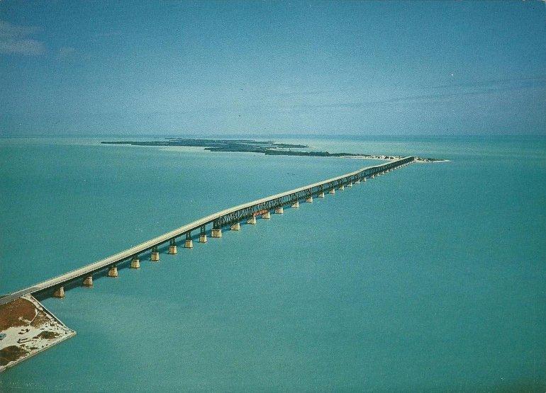 Уникальные мосты Флориды-Кис