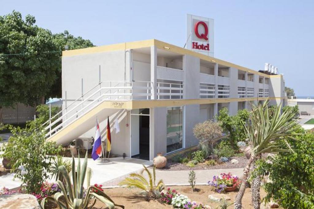 Нетания, Израиль. Отель Q