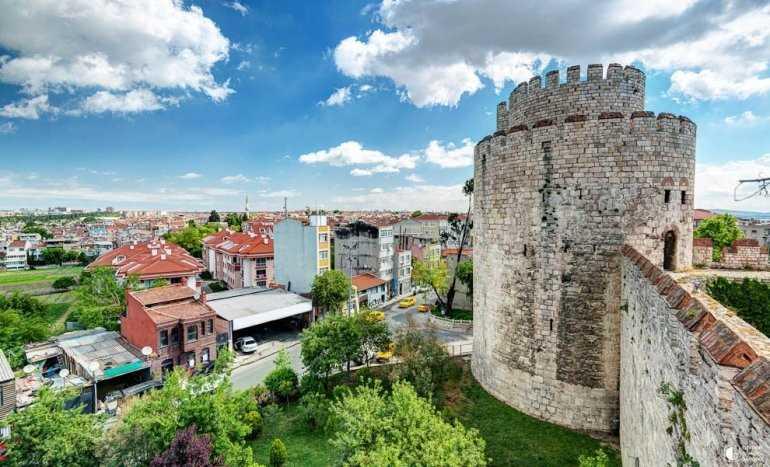 История крепости Едикуле и городской стены