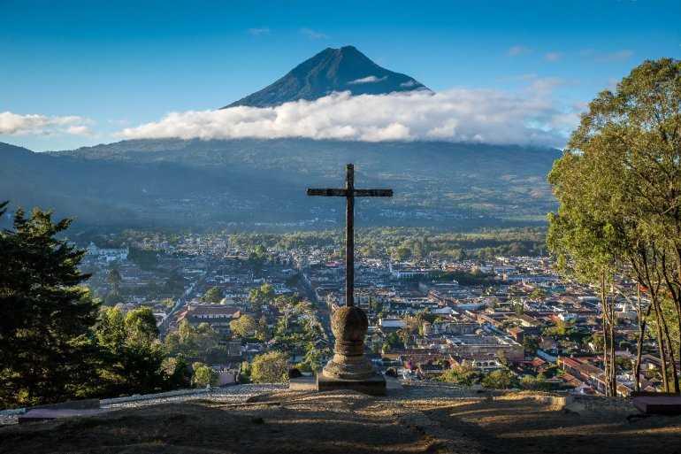 Археологические сокровища - республика Гватемала