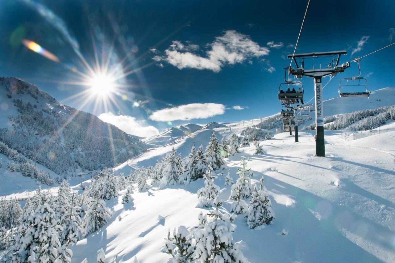 Регионы катания на лыжах в Андорре