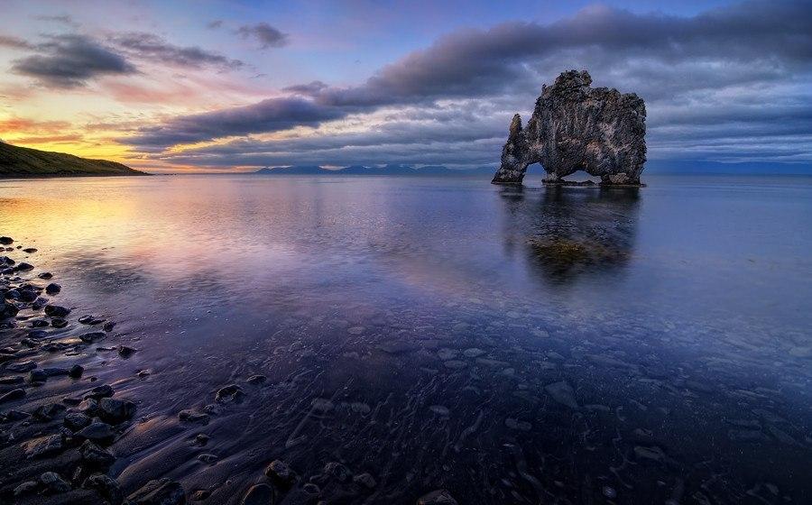 Исландия. Скала Хвитцеркур