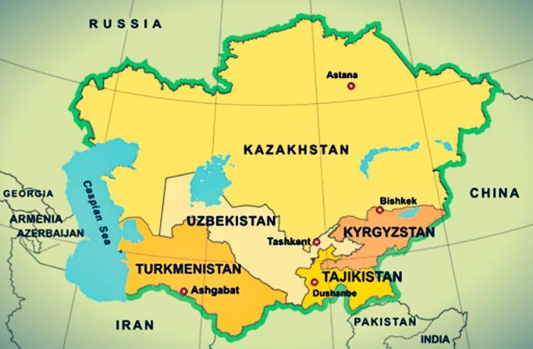 Развитие делового туризма на территории центральной Азии