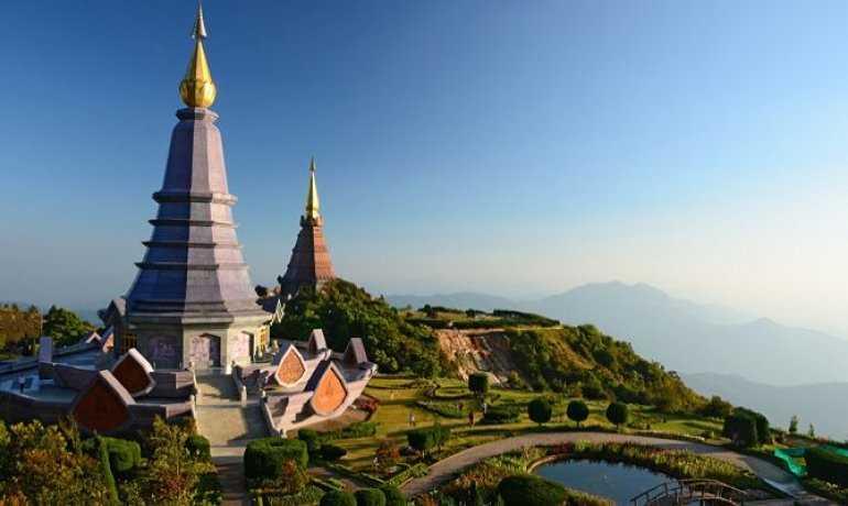 Достопримечательности Чианг Мая Chiang Mai Национальный парк Huai Nam Dang