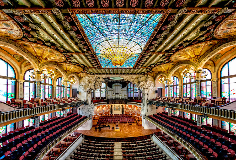 Дворец Каталонской Музыки в Испании