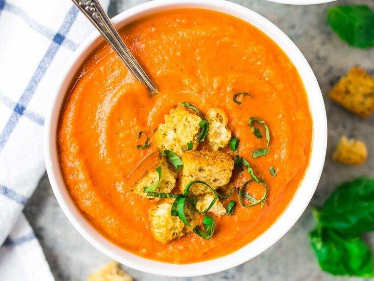 Рецепт для микроволновки овощной суп пюре