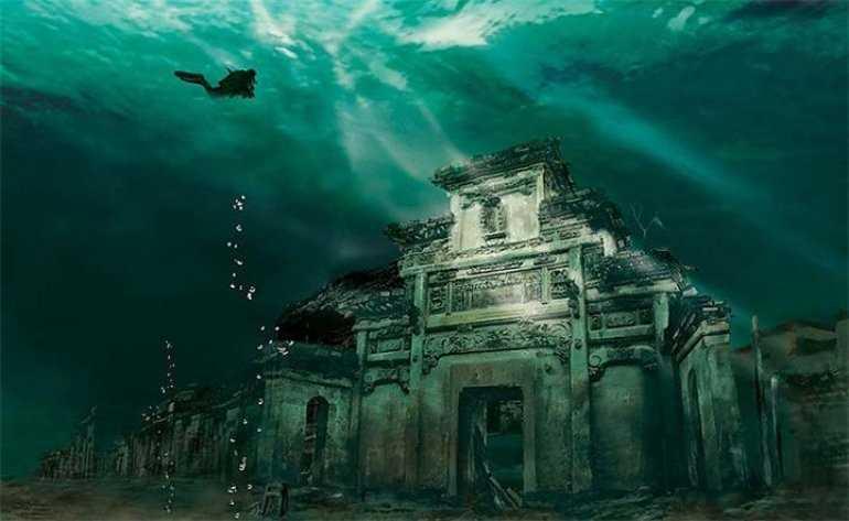 Затонувший древнеегипетский город Гераклеон