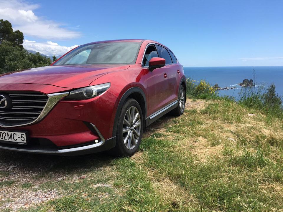 Поездка на Mazda в Хорватию