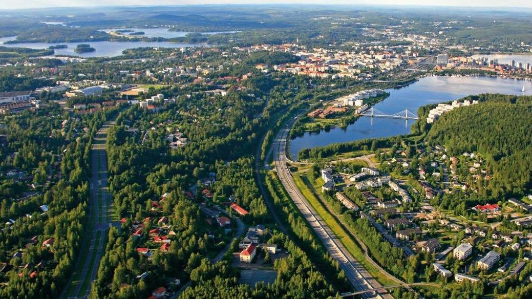Автобусный тур в ювяскюля, финляндию-лаппеенранта