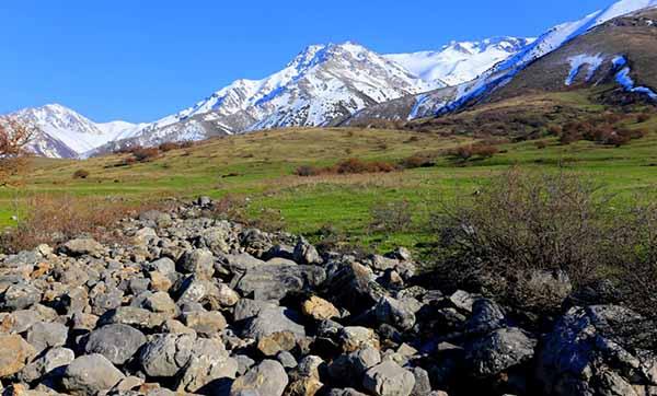 Западный Тянь-Шань Хребет Таласский Алатау