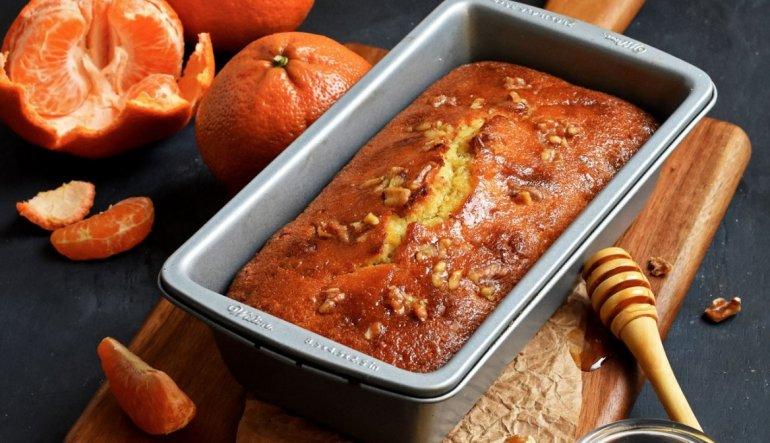 Рецепт вкусный мандариново-ореховый торт