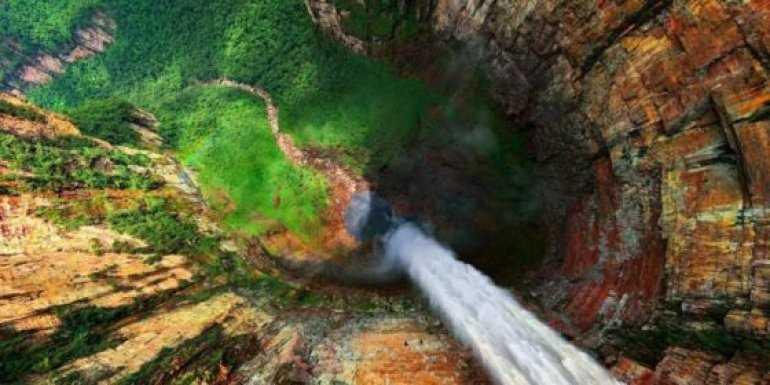 Удивительный уголок планеты: Водопад Анхель