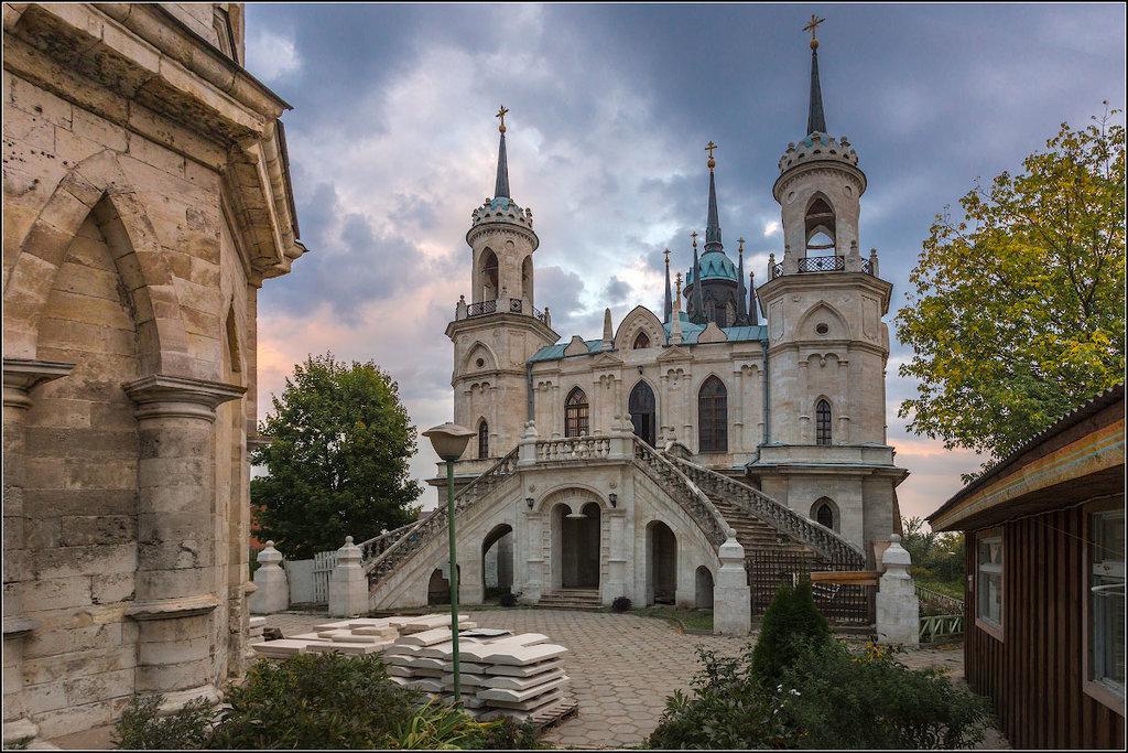 Церковь в честь иконы Владимирской Божьей Матери в Быково