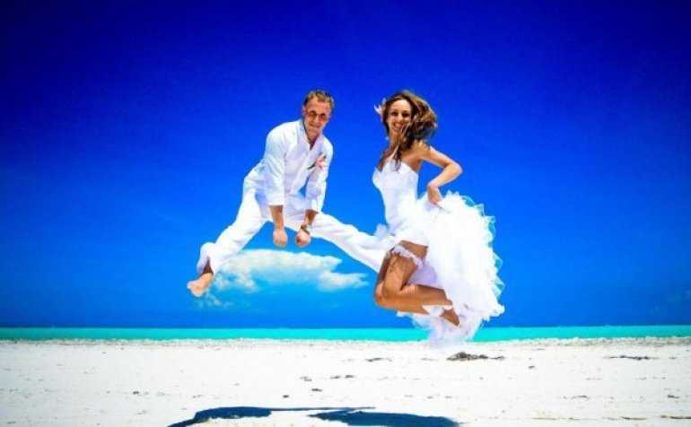 Экзотическая свадьба на островах