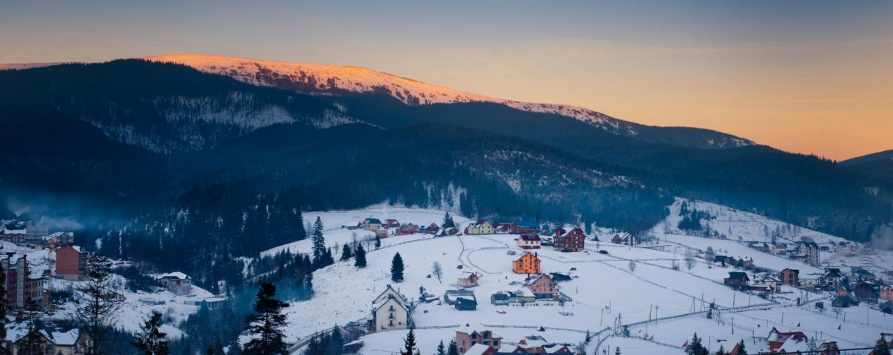 Как отдохнуть в Карпатах зимой?
