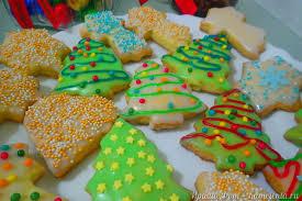 Новогодне-рождественское печенье