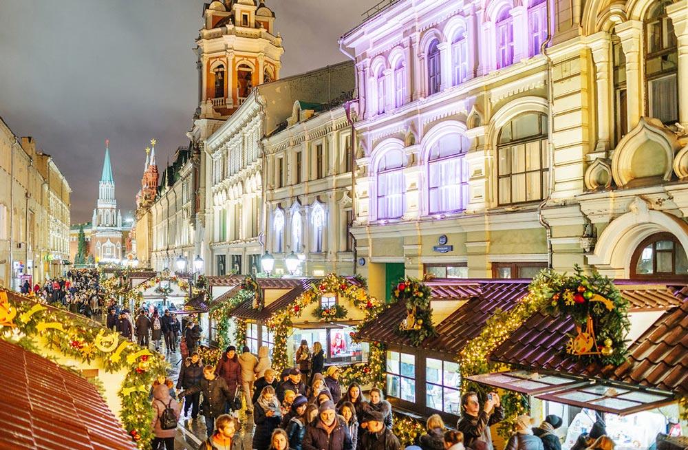 Где встретить и отметить Новый год в Москве