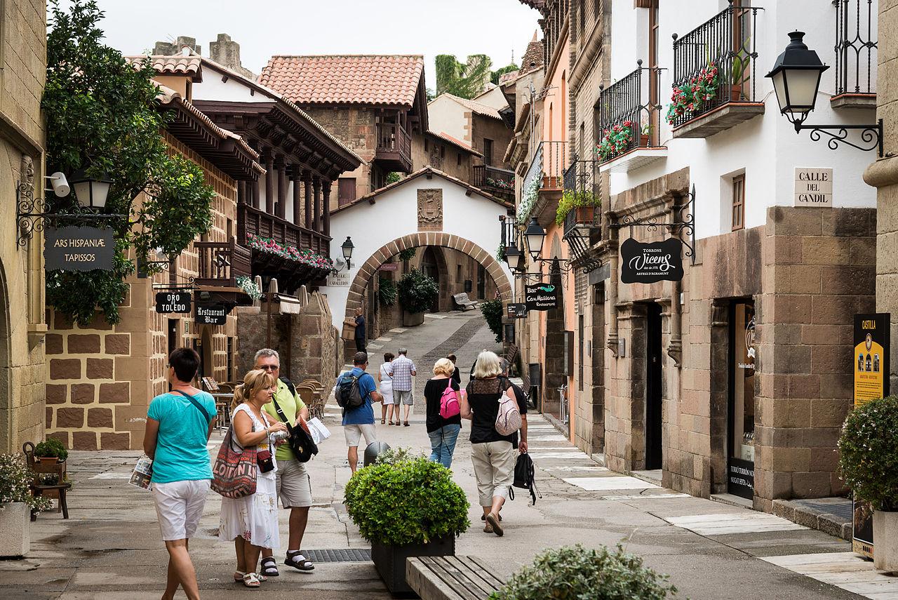 Испания для туриста Испанская деревня